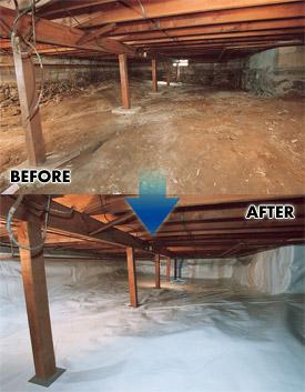 Crawl Space Repair In Quebec Crawl Space Encapsulation