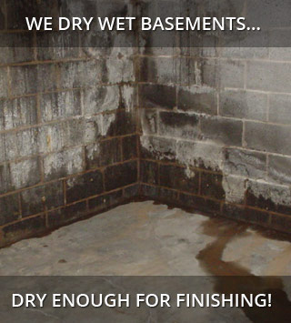 Basement waterproofing in the Province of Quebec